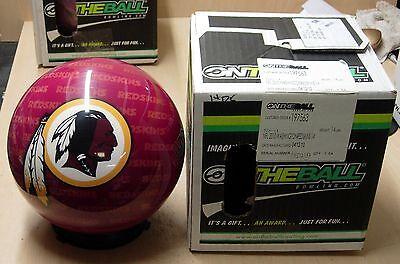 14 Rare Bowling Ball Otbb Viz-a-ball Nfl 2010 Washington Redskins