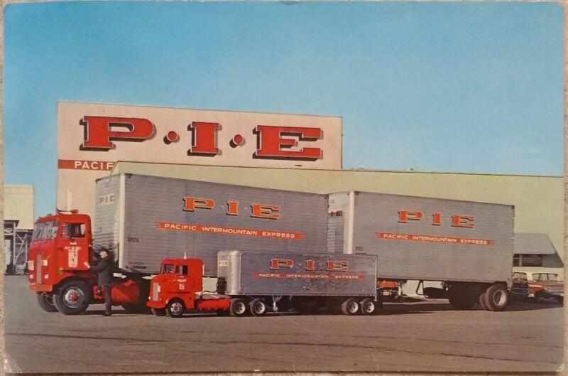 1962 Vtg P.I.E. Seattle Worlds Fair Long Haul Trucks Century 21 WA State