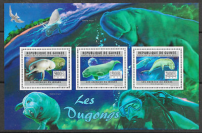 TIERE DUGONG GUINEA MINR 8891 93 KLEINBOGEN
