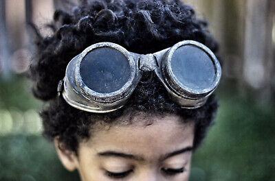 Handmade Steampunk Goggles, Post-Apocalyptic, Cosplay, Halloween, Costume