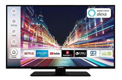 Techwood F40T52D 40 Zoll Fernseher Smart TV Full HD Triple Tuner WLAN