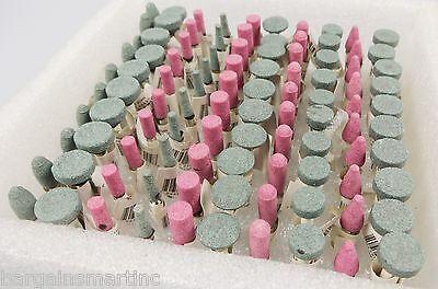 100pc Abrasive Grinding Wheel Burr Bit Set Polishing Stone Tip Heads Rotary Tool