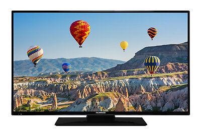 Techwood F40T11A 40 Zoll Fernseher 102cm HD TV DVB-C/-T2/-S2 HDMI USB CI
