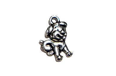 Puppy Dog Charm for Necklace Ankle Bracelet Zipper Pull Jewelry Making - Hobbies For Adults