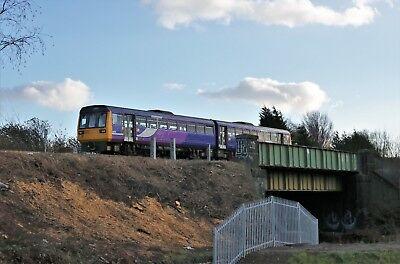 142017 Northern 6x4 Quality British Rail Photo