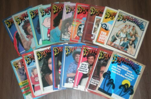 Dynamite Magazine [ MULTI-LISTING ] Scholastic Vintage Posters Trinkets Topps