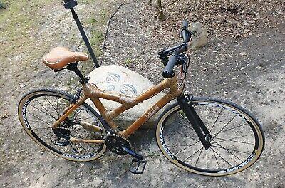 Schön Bamboo Cityrad Retro Vintage City Bike Stadtfahrrad Fahrrad bambus