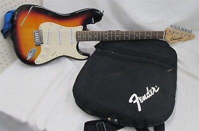 Starcaster By Fender Solid Body Electric Guitar Sn Cap 0050608139 W  Soft Case