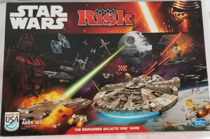 Disney Star Wars Risk The Reimagined Galactic Board Game B2355