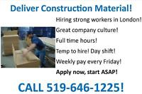 NOW HIRING - Delivery Helpers - Call 519-646-1225 TODAY!