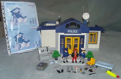 Playmobil 3165 Police Headquarters + ACCESSORIES