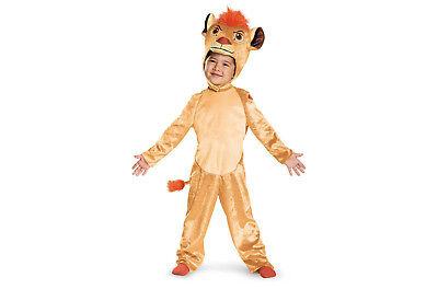 Toddler Girls/Boys 2T Disney Kion Lion Guard Halloween Dress-Up Costume ()