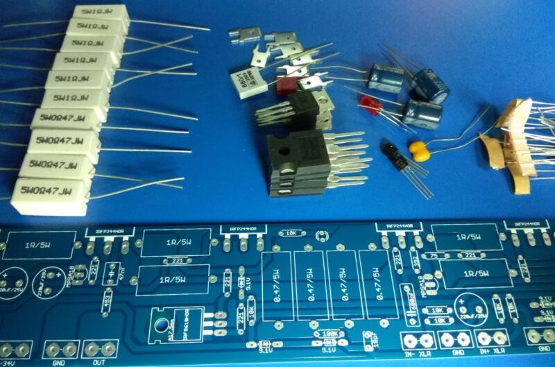 Aleph 5 60W A class Amplifier D I Y  | PolyBull com
