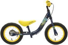 "Apollo Wizzer Kids Boys Balance Bike Bicycle Blue 12"" Metal Frame 3-5 Years"