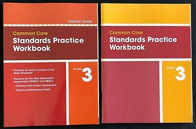 Pearson enVision 3rd Grade Standards Practice Workbook (Teacher AND Student) 3rd Grade Workbook