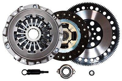 QSC Stage 1 Clutch Kit Chromoly Flywheel for Subaru WRX 02-05 EJ20 EJ20T EJ205