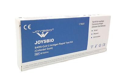 JOYSBIO Covid-19 Antigen-Schnelltest Corona Antigenschnelltest Spucktest BfArM
