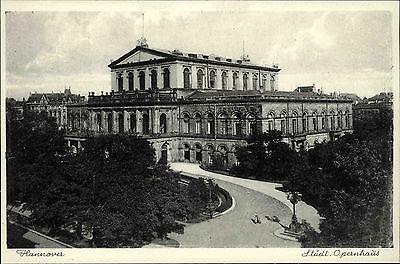 Hannover Niedersachsen ~1940 Städtisches Opernhaus Oper Schauspielhaus Gebäude