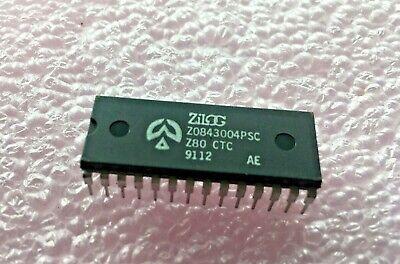 2pcs Z84C2008PEC NMOS//CMOS Z80 PIO PARALLEL DIP40