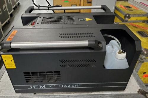 Martin JEM K1 DMX Hazer W/ Fluid & Road Case