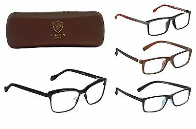 Optisch Brillen Designer Brillen für Rezept Brillengestell mit Etui