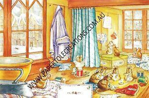 Paper tole Kit - Beatrix Potter - At the Tailors