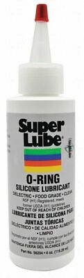 Super Lube 56204 O-Ring Silicone Lubricant, Clear - 4 oz