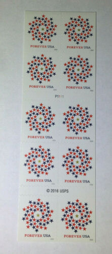 10 USPS Forever Stamps US 2016 FOREVER Postage USA