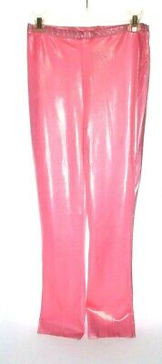 Pink Pants Halloween Costume (Curtain Call Metallic Pink Dance Pants Adult & Kid Sizes Theater Costume)