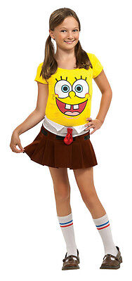 Sponge Babe SpongeBob Squarepants Nickelodeon Dress Up Halloween Child Costume