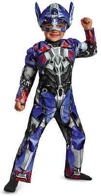 Transformer Dress Up (Optimus Prime Transformers Robot Fancy Dress Up Halloween Toddler Child Costume)