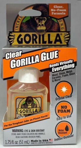 Gorilla 4500102 High Strength Clear Glue 1.75 oz Brand New