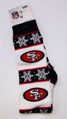 San Francisco 49ers Knee High Socks Winter Theme](49ers Theme)
