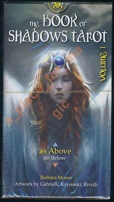 NEW Lo Scarabeo As Above The Book of Shadows Tarot Cards