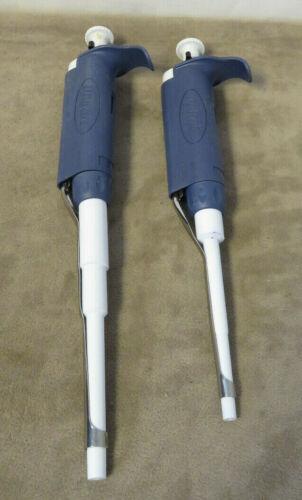 Lot of 2 Rainin pipet-lite LTS , L100 , LTS, L1000 - Used
