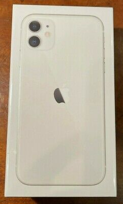 Apple iPhone 11 - 64GB - White (AT&T & Cricket) A2111 (CDMA+GSM) Factory Sealed