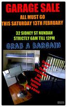 GARAGE SALE ON SATURDAY Nundah Brisbane North East Preview