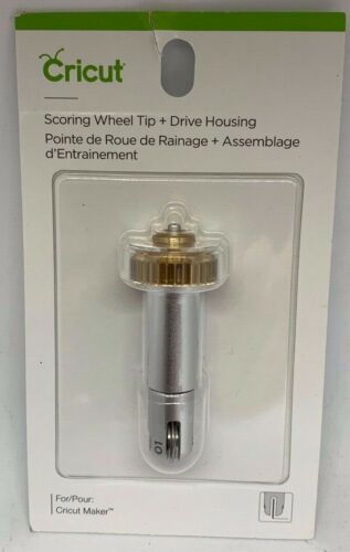 Cricut Scoring Wheel Tip + Drive Housing 2005101 NEW