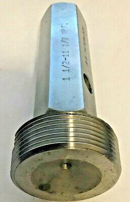 Thread Plug Gauge 1-12 - 11-12 Npt Gtd Free Shipping Greenfield Tap Die