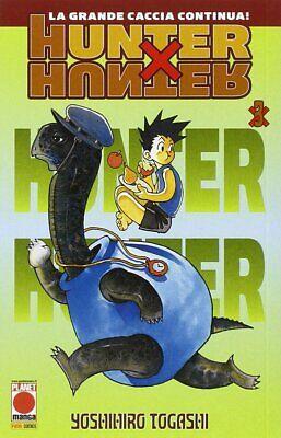 Hunter X Hunter N°3 - Reimpresión - Planet Manga - Italiano Nuevo...