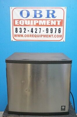 Manitowoc Half Dice Ice Machine Maker Air-cooled Production 810 Lbs Ice Day