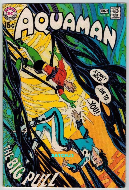 1970 DC COMICS AQUAMAN #51 NEAL ADAMS DEADMAN JIM APARO ART NICK CARDY COVER