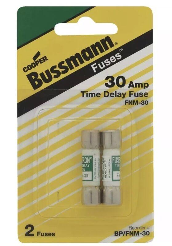 Bussmann Fusetron FNM Cartridge Fuse