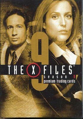 Inkworks The X Files Season 9 Complete 90 Card Base Set