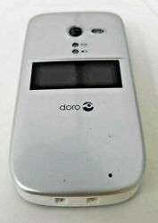 Consumer Cellular Doro PhoneEasy 626 Replacement Unit For seniors Silver MINT