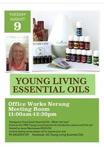 Essential oils intro Worongary Gold Coast City Preview