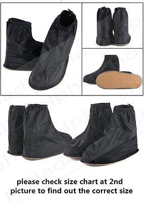 Reusable Rain snow Shoe Covers Waterproof shoes Overshoes Boot Gear