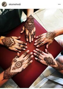 Now taking Mehndi Henna Heena Bookings for Spring / Summer 2018