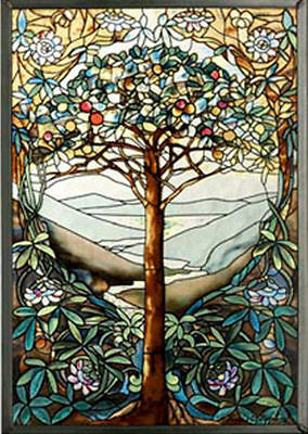 Tree Of Life Suncatcher - Stained Glass Suncatcher  Masterwork USA GM1010