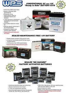 NEW WPS YTX16-BS-1 Battery No Maintenance Free